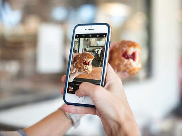 iphoneで写真撮影